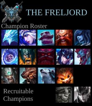 Freljord Roster - Kin-Fire - Week 2