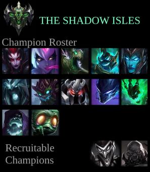 Shadow Isles Roster - Kin-Fire - Week 2