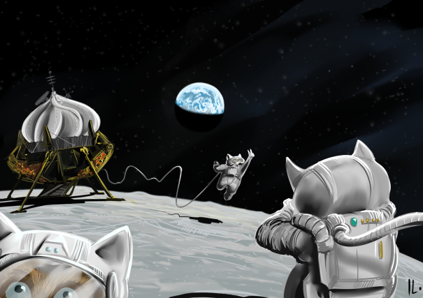 Hamsters in space