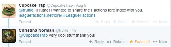 2014-08-09 - Kitae responds to Lore index tweet