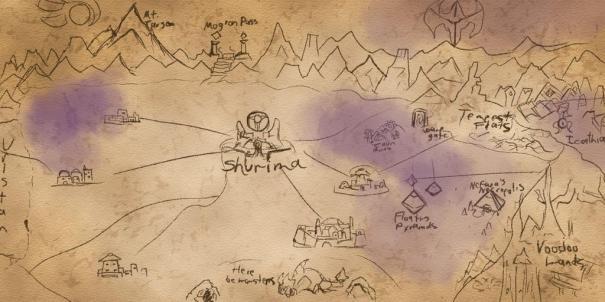 Shurima map draft