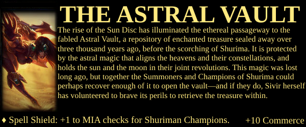 Shurima Project - The Astral Vault