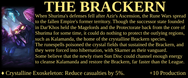 Shurima Project - The Brackern