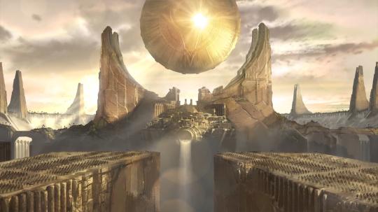 Shurima Sun Disc Risen