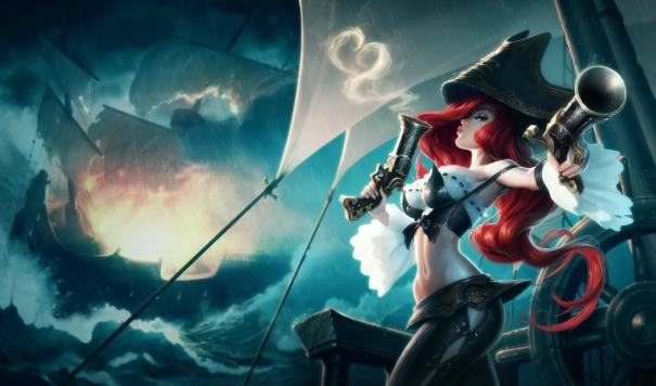 Miss Fortune Splash