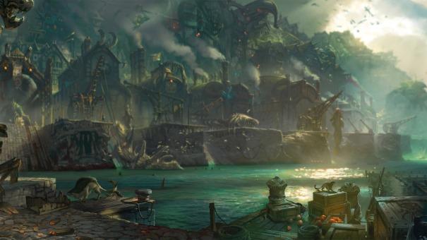 Bilgewater Docks